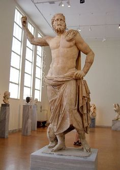 Pamukkale statue and museums on pinterest - Poseidon statue greece ...