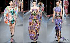 NY Fashion Week Spring 2012: Custo Barcelona runway review