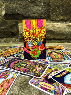 Custom Illusori Tarot Deck 78 cards Tarot Reading by illusori