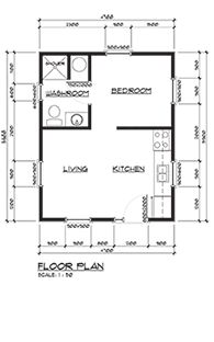 1000 images about tulum house plans on pinterest square for 300 sq ft house