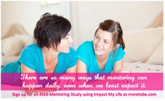What does biblical mentoring mean? {Plus Impact My Life is FREE today!}