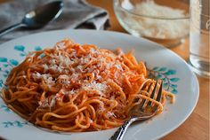 ~ with grated parmesan ~