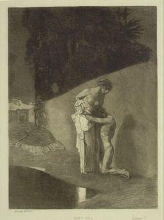 Rudolf Jettmar, Liebspaar, 1904 © Albertina, Wien #love #couples #art #arthistory #drawings #graphicart #prints #albertina