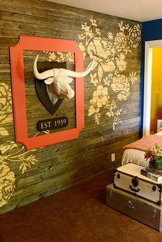 Hy's Room by Ree Drummond / The Pioneer Woman, via Flickr