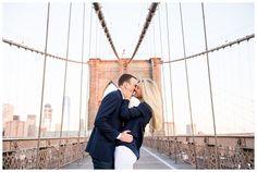 New York Engagement   Brooklyn Bridge, NY, NY   Real weddings, engagements and inspiration for the modern NY Bride   www.redoakweddings.com