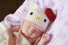 Hello Kitty Baby Hat baby