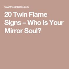 Twin Flames...I think this explains a lot towards answering that question we were talking about.