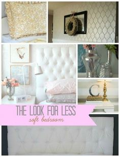 DIY Home Decor | Longing for a tranquil bedroom space?  Here are 5 ideas for creating one without breaking the bank from Infarrantly Creative.