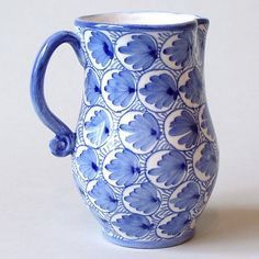 Blue and white ceramic painting delfs