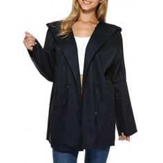 SHARE & Get it FREE | Hooded Drop Shoulder Loose Trench CoatFor Fashion Lovers only:80,000+ Items·FREE SHIPPING Join Dresslily: Get YOUR $50 NOW!