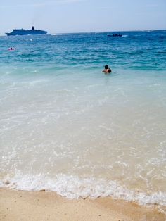 Medano Beach - one of the few swimmable beaches in Cabo San Lucas #Mexico