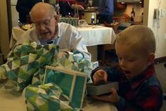 4-Year-Old Boy and 90-Year-Old Man Are Best Friends