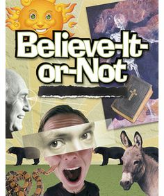 Believe-It-or-Not Bible Studies for Youth Ministry $16.99