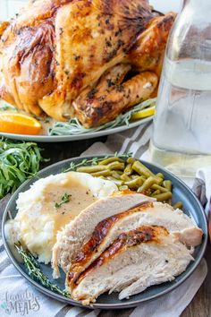 Roasted Thanksgiving Turkey Recipe from Family Fresh Meals With this recipe, you'll know exactly how to cook the perfect Roasted Thanksgiving turkey: moist and juicy throughout, with beautiful, crisp, golden skin. Vegetarian Thanksgiving, Thanksgiving Turkey, Thanksgiving Recipes, Family Fresh Meals, Easy Family Dinners, Roasted Turkey, Turkey Brine, Cookbook Recipes, Cooking Recipes