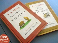 Vintage Winnie-The-Pooh Book Set A. A. by SquirrelAwayVintage