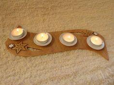Klikem zav?ete obr��zek Tea Lights, Candles, Winter, Pottery, Christmas, Do Crafts, Winter Time, Tea Light Candles, Pillar Candles