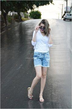 Denin STREET fashion style / Find more inspiration here: www.sonhosdemenina.blog.br