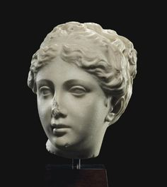A ROMAN MARBLE HEAD OF VENUS - CIRCA 1ST-2ND CENTURY A.D. | Christie's