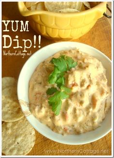 {SAUCY SAUSAGE DIP} - a YUMMY easy Dip Recipe to add to your arsenal of go to party foods! @NorthernCottage.net