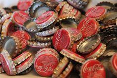 Old Used Coca Cola Bottle Caps