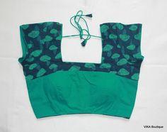 Assam silk blouse