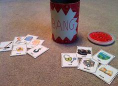 Testy yet trying: Speech Card Set Activity: Bang! - Speech Articulation Version