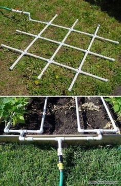 Not just for construction purpose, PVC pipes can be used for a variety of purposes. As it is sturdy, waterproof, inexpensive and easy to get, it is the perfect material for many DIY homestead projects. Even if you're not good at DIY, you can also drill, cut, paint and glue those PVC pipes easily. Spring […] #vegetablegardenhacks