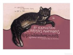 Exposition des Artistes Animaliers Posters by Théophile Alexandre Steinlen at AllPosters.com