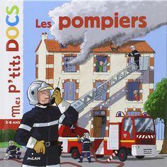 Amazon.fr - Les pompiers - Stéphanie Ledu, Eric Gasté - Livres