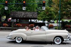 During car shows and rod runs in Pigeon Forge, it's common to see fold-up chairs lined up and down the parkway with people packed shoulder-to-shoulder with coolers, cameras, and friends.