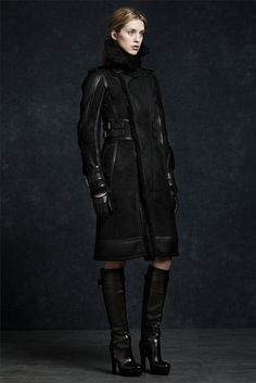 Fall 2012 Belsatff military suede jacket.  Visit www.lifeandstyleonadime.com for fall trends. Image stilletto bootlover_83