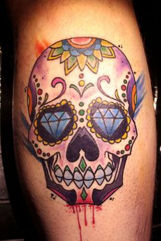 Sugar Skull, via Flickr.