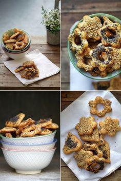 Sesame & Poppy Seed Cheddar Cookies