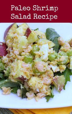 Paleo Shrimp Salad Recipe