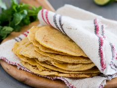 Basic Homemade Corn Tortilla | These quick, easy homemade corn tortillas need only three ingredients and take only 30 minutes to make.