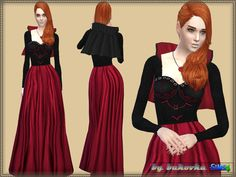 7c8c377695 Sims 4 CC s - The Best  Dress by Bukovka The Sims