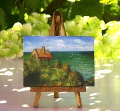 Claude #Monet - Table Canvas on Easel by #ForMomentsinTime on Etsy
