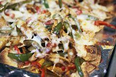 Chicken Fajita Nachos | my kitchen addiction