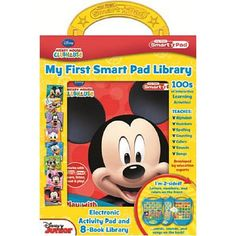 toys r us, i need to see this in person.........Mickey Mouse Clubhouse My First Smart Pad Library