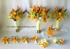 bird of paradise wedding flowers
