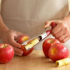 Apple Corer: This ergonomically designed tool makes coring apples easy.
