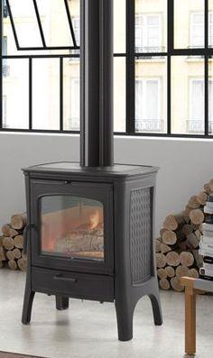 Sistemas de calor para el hogar de Jorge Fernández #Estufa de leña #decoración #diseñointerior