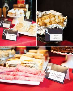 PArty Menu: 50 Shades of Grey Party {Adult Birthday}