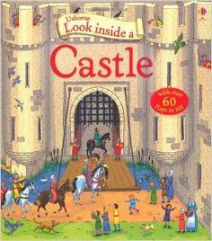 Look Inside a Castle (Usborne Look Inside): Amazon.co.uk: Conrad Mason, Barry Ablett: 9781409566175: Books