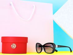 Shop 'til you drop in a pair of Twist sunnies. Aka the on-the-go essential every woman needs in her bag.