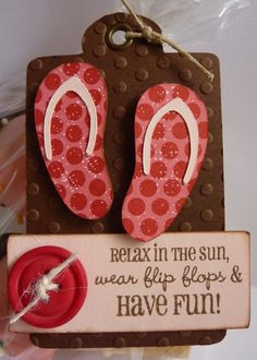 Crafting with Katie: Sweet Treats Flip Flop Quotes, Flip Flop Craft, Looney Tunes Bugs Bunny, Cricut Cards, Cricut Creations, Scrapbook Cards, Scrapbooking Ideas, Summer Fun, Summer Ideas
