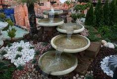 Resultado de imagen para fuentes de agua para jardines                                                                                                                                                      Más