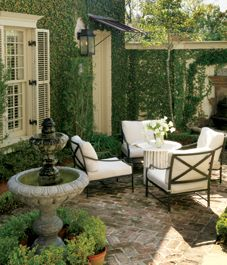 Outdoor living: How to create an outdoor room