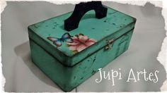 Jupi Artes: Frasqueira Porta Maquiagem ou Esmaltes