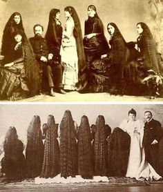 The 19th Century Band of Sisters that was Famous for Their Long Locks